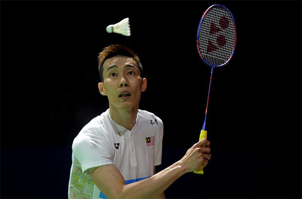 Lee Chong Wei, and Kento Momota to meet again at Indonesia Open semi-final. (photo: AFP)