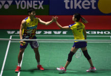 Chan Peng Soon/Goh Liu Ying seek revenge against Tontowi Ahmad/Liliyana Natsir in the Indonesia Open final. (photo: AFP)