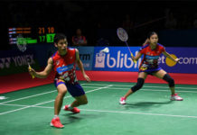 Chan Peng Soon/Goh Liu Ying earn a positive experience despite their loss in Indonesia Open final. (photo: AFP)