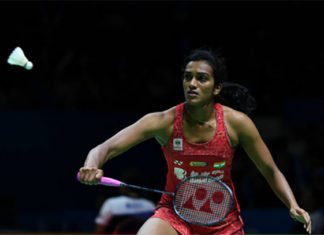 P.V. Sindhu progresses to Thailand Open semi-finals. (photo: AFP)