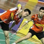 Aaron Chia (left)/Soh Wooi Yik convinced of exciting badminton future. (photo: Bernama)
