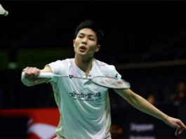 Chou Tien Chen looks strong heading to Sunday's Singapore Open final. (photo: AFP)