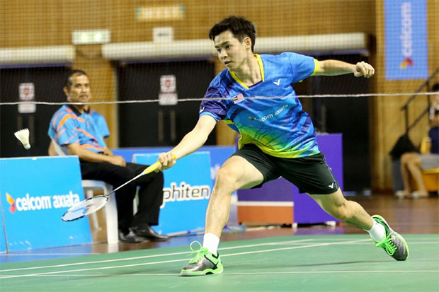 Cheam June Wei should take advantage to learn from top players at the Asian Games. (photo: AFP)