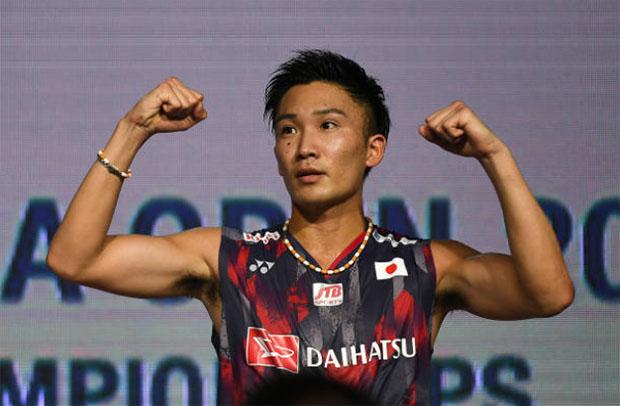 Kento Momota has high chance of winning this year's World Championships. (photo: AFP)