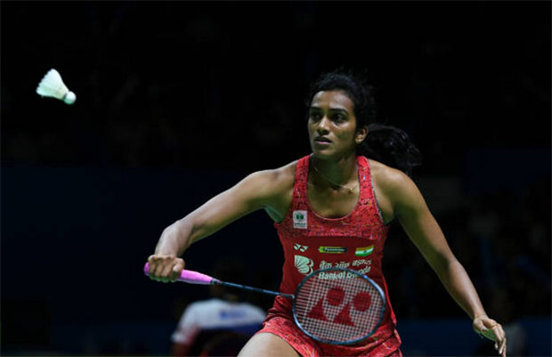 PV Sindhu eyes medal at the World Championships. (photo: AFP)