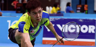 Cheam June Wei hopes to make an impact at the 2018 Asian Games. (photo: Bernama)
