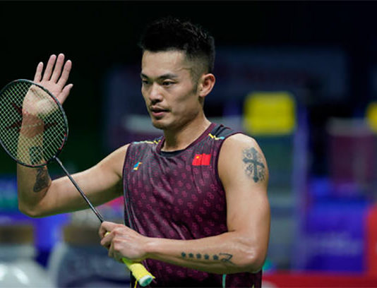 Lin Dan to play Shi Yuqi in the 2018 World Championships round of 16. (photo: AFP)