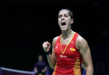 Carolina Marin enters the quarter-finals of 2018 World Championships. (photo AFP)