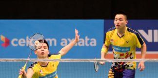 Aaron Chia/Soh Wooi Yik are young rising men's doubles pair from Malaysia. (photo: Bernama)