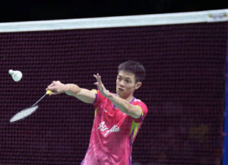 Playing for Malaysia at Asian Games definitely a good motivation for Daren Liew. (photo: AFP)