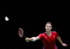 Viktor Axelsen faces a big threat from Kento Momota in the BWF rankings. (phot: AFP)