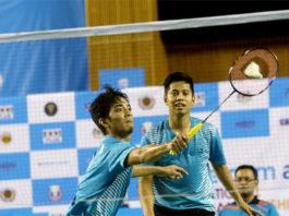 Arif Latif/Azriyn Ayub are fighting for their own success in badminton. (photo: Bernama)