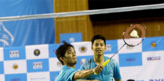Arif Latif/Azriyn Ayub are fighting for their own success in badminton. (photo: Bernama)