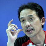 Rashid Sidek's words of wisdom are uplifting and inspiring. (photo: Bernama)