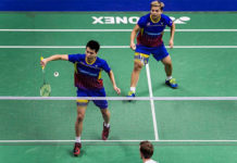 Wish Teo Ee Yi/Ong Yew Sin good luck at the 2018 Asian Games. (photo: Bernama)