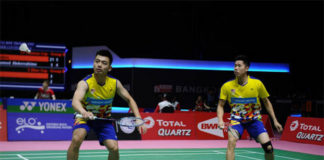 BAM would like Goh V Shem/Tan Wee Kiong to deliver gold at the 2018 Asian Games. (photo: AFP)