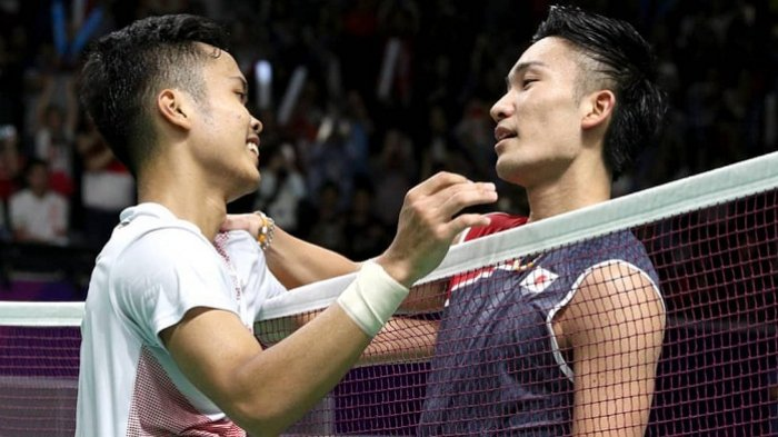 Anthony Sinisuka Ginting beats Kento Momota in Asian Games ...