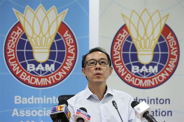 Ng Chin Chai who is also the BAM secretary. (photo: Bernama)