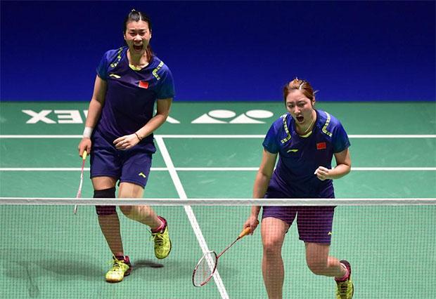 Tang Jinhua/Yu Xiaohan currently ranked World No. 29. (photo: AFP)