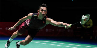 Lin Dan to play Kento Momota the 2018 Japan Open quarter-final.(photo: AFP)