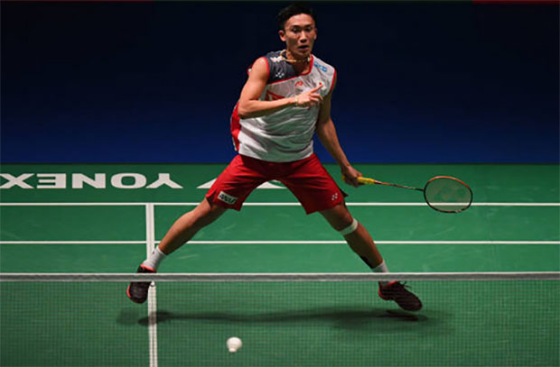Kento Momota is the next generation of badminton star. (photo: AFP)