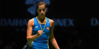 Carolina Marin enters Japan Open final. (photo: AFP)