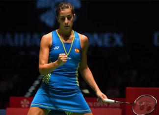 Carolina Marin enters Japan Open final. (photo: AFP)