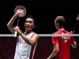 The new king of badminton is here, his name is Kento Momota. (photo: AFP)