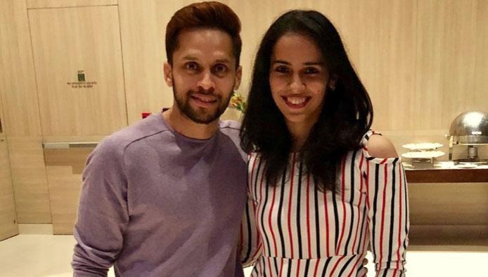 Congratulations to Saina Nehwal and Parupalli Kashyap! (photo: IOT)