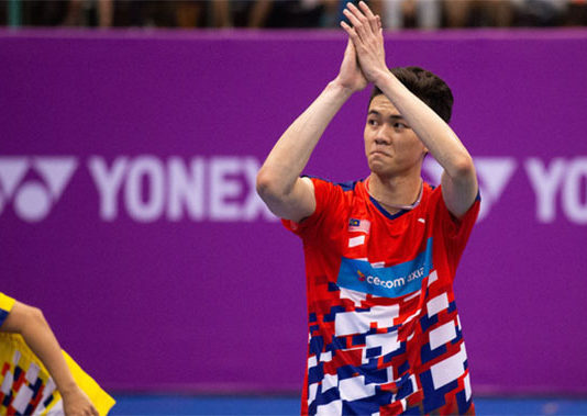 Lee Zii Jia is Malaysia's most promising junior player. (photo: ETToday)