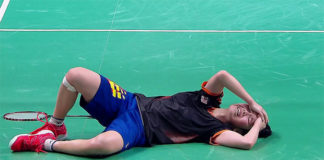 Goh Jin Wei's emotional moment after winning the 2018 Youth Olympics gold medal.