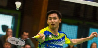 Cheam June Wei is one win away from the Dutch Open title. (photo: Bernama)