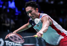 Kento Momota is the most dominant player in badminton right now. (photo: AFP)