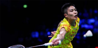 Chou Tien Chen to take on Kento Momota in Denmark Open final. (photo: AFP)
