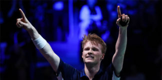 Badminton Video - 2018 Denmark Open QF - Anders Antonsen (Denmark) vs. Huang Yuxiang (China)