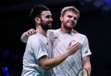 Badminton Video - 2018 Denmark Open Semi-Final - Marcus Ellis/Chris Langridge (England) vs. Takeshi Kamura/Keigo Sonoda (Japan)