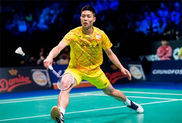 Badminton Video - 2018 Denmark Open Semi-Final - Chou Tien Chen (Chinese Taipei) vs. Anders Antonsen (Denmark)