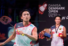 Kento Momota pockets USD $54,250 by winning the 2018 Denmark Open title. (photo: AFP)