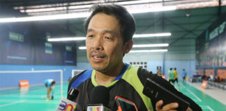 Rashid Sidek has high hope for Wong Choong Hann. (photo: Bernama)