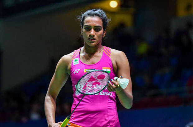 P.V Sindhu exacts revenge against Zhang Beiwen in the 2018 French Open first round. (photo: AFP)