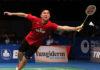 Tan Boon Heong partners Kim Sa Rang at 2018 Macau Open. (photo: AFP)