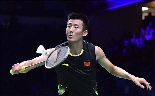 Chen Long slowly works his way back into form. (photo: AFP)