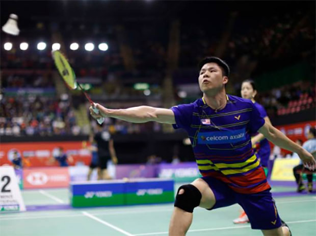 Goh Soon Huat/Shevon Jemie Lai have good chance of ending 2018 on high note. (photo: AFP)