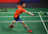 Lee Zii Jia is trying to make his mark in the sport of badminton. (photo: AFP)