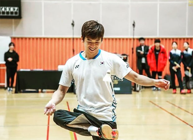 The Legends' Vision in Korea - Lee Yong-Dae. (photo: Yonex)