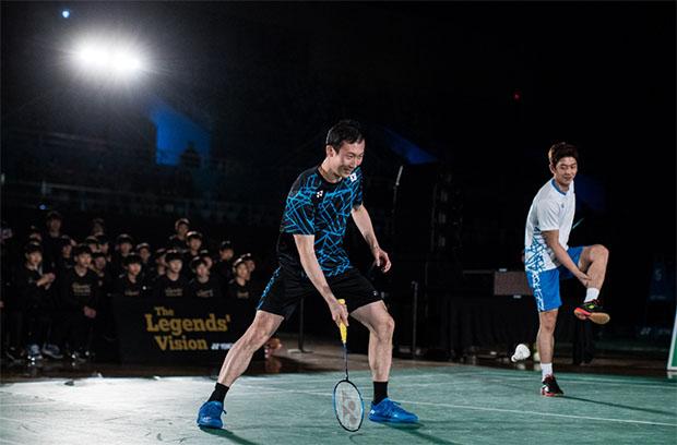 The Legends' Vision in Korea - Lee Yong-Dae and Yoo Yeon Seong. (photo: Yonex)