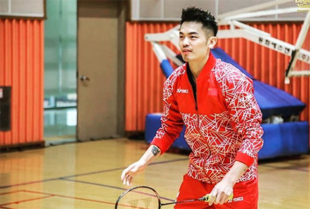 The Legends' Vision in Korea - Lin Dan. (photo: Yonex)