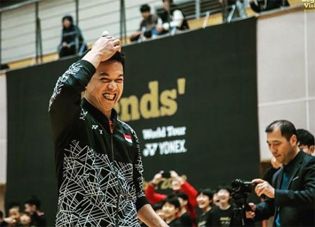 The Legends' Vision in Korea - Taufik Hidayat. (photo: Yonex)