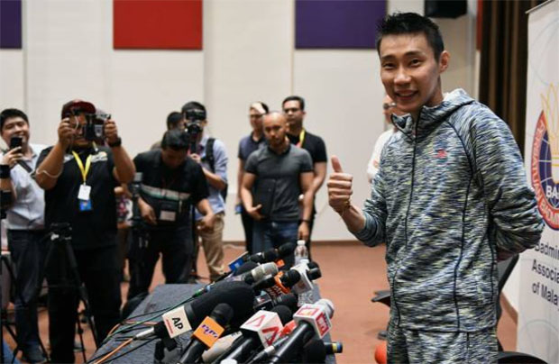 Lee Chong Wei - You are the champion! (photo: AFP)