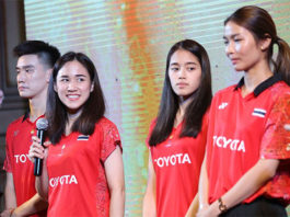 Ratchanok Intanon's absence leaves Nitchaon Jindapol to spearhead the Thai challenge at Thailand Masters. (photo: AFP)
